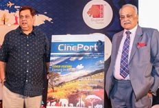 Cineport Inaguration with David Dhawan and TP Aggarwal