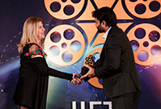 IIFTC Awards - Greek Film Centre presenting to Yash Raj Films