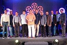 IIFTC Awards  - David Dhawan & Harshad Bhagwat with Group of Producers