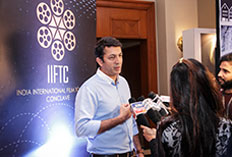 IIFTC Knowledge Series - Kunal Kohli addressing media