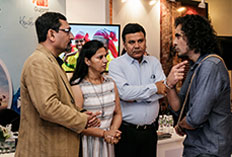 IIFTC Moments - Director Imtiaz Ali with Team Gujarat and New Delhi