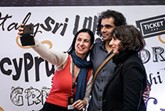 IIFTC Moments - Director Imtiaz Ali with Team Greece