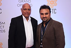 IIFTC Red Carpet  - Manmohan Shetty with Harshad Bhagwat - Director IIFTC