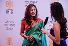 IIFTC Red Carpet - Saroja Sirisena - Consul General of Sri Lanka
