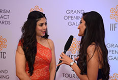 IIFTC Red Carpet  - Actor Anurita Jha