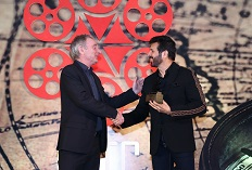 IIFTC Awards - Truls Kontny, President - EUFCN with Director Kabir Khan