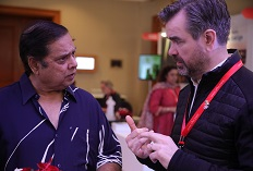 IIFTC Moments - Director David Dhawan & Film Commissioner of Iceland Einar Hansen Tomasson