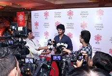 IIFTC Red Carpet - Actor Akash Puri Jagannadh addressing media
