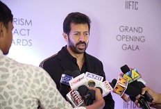 IIFTC Red Carpet - Bollywood Director Kabir Khan addressing media