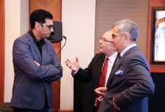 Aashish Singh - Yash Raj, Erdal Sabri Ergen - CG of Turkey, HE Burak Akçapar - Ambassador of Turkey