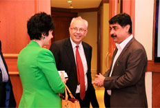 Ozge Dumlupinar - Ministry of Economy Turkey, Erdal Sabri Ergen - CG of Turkey and Kulmeet Makkar - Producers Guild