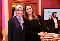 Yesim Sezdirmez - Kanal 7 and Begum Ece -Istanbul Chamber of Commerce